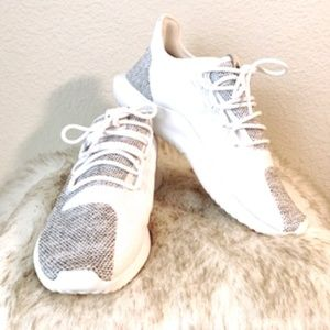 ADIDAS TUBULAR SHADOW KNIT WHITE
